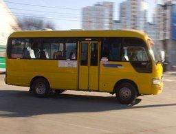 Количество маршруток на дорогах Хабаровска продолжает уменьшаться - транспортные средства снимают с линии из-за перевозки стоящих пассажиров