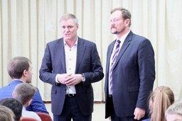 Сергей Луговской поздравил воспитанников центра Петрынина с наступающими праздниками