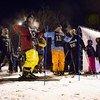 Хабаровские сноубордисты и лыжники и открыли первый сезон ночного катания