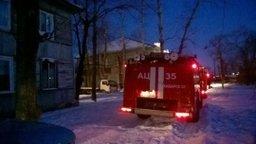 Пожарно-спасательная служба Хабаровска привлекалась к тушению пожара в деревянном двухэтажном доме по улице Воронежской