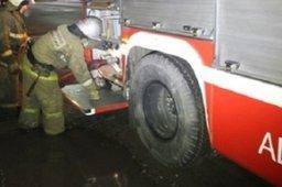 Причиной вызова комсомольских огнеборцев в поселок Хорпинский стало загорание домашних вещей