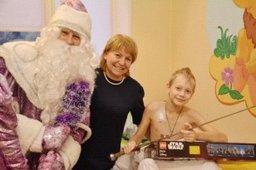 Веселый праздник для детей из онкоцентра