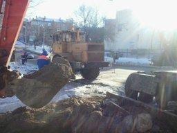 В Хабаровске на улице Советской завершены работы по восстановлению холодного водоснабжения