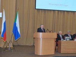 Вячеслав Шпорт выступил с ежегодным инвестиционным обращением к представителям законодательной и исполнительной власти