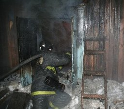 Хабаровские пожарные ликвидировали загорание веранды в частном доме в поселке Тополево
