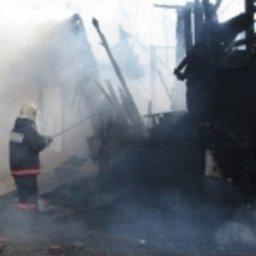 Огнеборцы ликвидировали загорание бани в посёлке Сергеевка