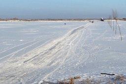 Очередная ледовая переправа открылась в Охотском районе