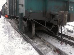 На перегоне Пони – Тудур Комсомольского муниципального района произошел сход с рельсов одного полувагона