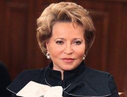 Новогоднее поздравление жителям края направила Валентина Матвиенко