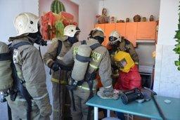 В Хабаровском крае продолжаются тренировки по эвакуации в учреждениях с круглосуточным пребыванием людей