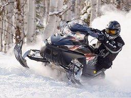 Передвигаясь на снегоходе, соблюдайте правила безопасности!