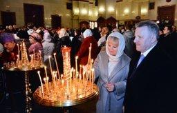 Вячеслав Шпорт принял участие в Рождественском богослужении