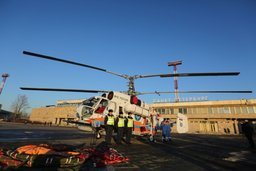 В Санкт-Петербурге на боевое дежурство поставлен пожарно-спасательный вертолет
