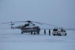 Санитарная эвакуация тяжелобольного мальчика из Углегорска успешно завершена