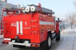 Пожарно-спасательная подразделения привлекалась к тушению пожара в девятиэтажном доме по улице Пирогова в Комсомольске-на-Амуре