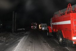 Огнеборцы ликвидировали загорание в деревянном жилом доме по улице Ухтомского в Хабаровске