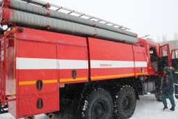 Огнеборцы ликвидировали загорание деревянного дома по улице Краснодарской в Хабаровске