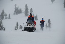 Спасатели направились в район перевала Дятлова для поиска туриста