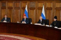 Губернатор Хабаровского края Вячеслав Шпорт встретился с членами региональной Общественной палаты
