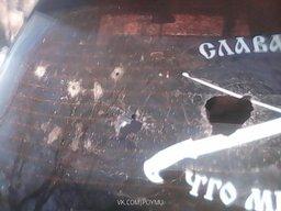 Расстреляли автомобиль начальника штаба хабаровских казаков