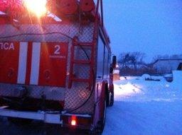В поселке Рощино огнеборцы ликвидировали загорание бани