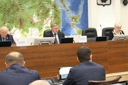 Два новых закона приняли депутаты краевого парламента