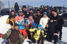 Третий этап ледовых трековых гонок состоялся в крае