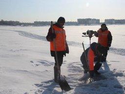 В Хабаровском крае приняты к эксплуатации еще три ледовые переправы