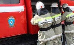 В Хабаровске пожарно-спасательные подразделения в считанные минуты ликвидировали загорание в арене «Ерофей»