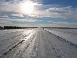 Внимание! На дорогах края прогнозируются снежный накат и гололедные явления