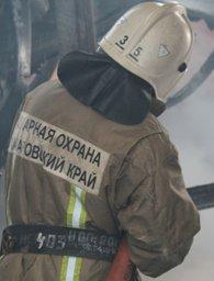 Хабаровские огнеборцы в считанные минуты ликвидировали загорание электрощитка в здании автовокзала
