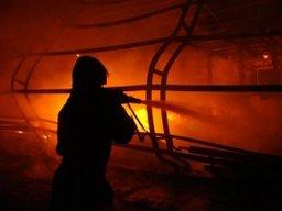 """Огнеборцы ликвидировали пожар в садовом товариществе """"Энергомаш"""" в Хабаровском районе"""