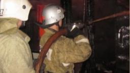 Огнеборцы ликвидировали возгорание в жилом доме в городе Вяземский