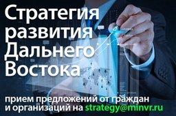 Минвостокразвития России принимает предложения к включению в Стратегию развития Дальнего Востока
