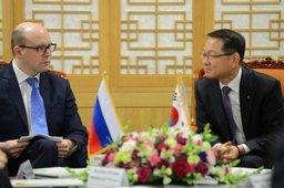 Сергей Качаев обсудил в Сеуле возможность создания российско-корейского аграрного фонда