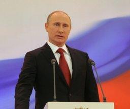 Президент России Владимир Путин поздравил жителей края с Днем защитника Отечества