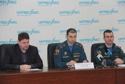Пресс-конференция, посвященная вопросам пожарной безопасности, прошла в Хабаровске