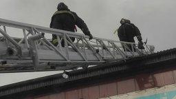 Ликвидировано открытое горение на складе в городе Хабаровске
