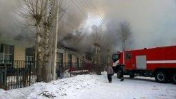 Пожар на складе в г. Хабаровске локализован