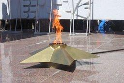 В канун Дня защитника Отечества хабаровские газовики провели техобслуживание Вечного огня