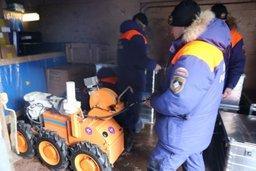 Роботехнические комплексы МЧС России обеспечат безопасность горноспасателей при проведении работ в шахте «Северная»
