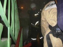Комсомольские огнеборцы ликвидировали возгорание в квартире