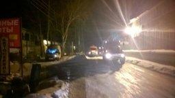 Хабаровские огнеборцы ликвидировали пожар на улице Горького