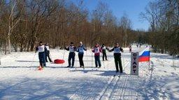 Лыжный марафон под Хабаровском провели сотрудники Специализированной пожарно-спасательной части