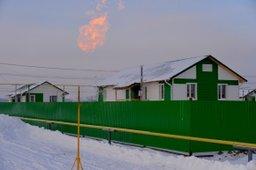 В селе Бельго началось подключение домов к газу