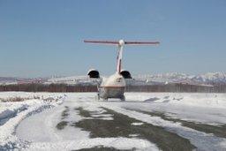 В Охинский район вылетел самолет МЧС России