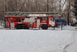 Комсомольские пожарно-спасательные подразделения ликвидировали возгорание в квартире