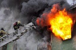 Пожарные ликвидировали пожар в поселке Новый Ургал Верхнебуреинского района
