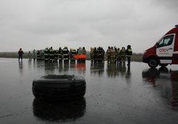 Работы в зоне катастрофы авиалайнера в Ростове-на-Дону будут вестись круглосуточно