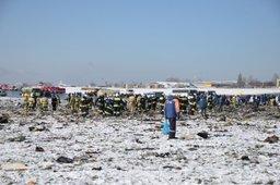 МЧС России завершило поисково-спасательную операцию, но работа на месте катастрофы авиалайнера в Ростове-на-Дону продолжается